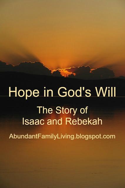 Hopeful in God's Will
