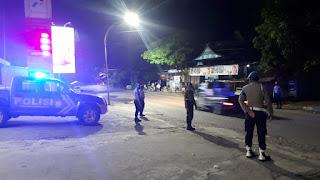 Antisipasi Gangguan Kamtibmas Di Malam Hari, Satuan Sabhara Polres Enrekang Laksanakan Patroli Blue Light