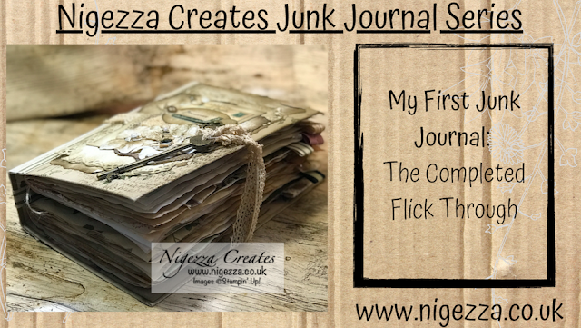 Nigezza Creates My First Junk Journal: The Completed Flick Through