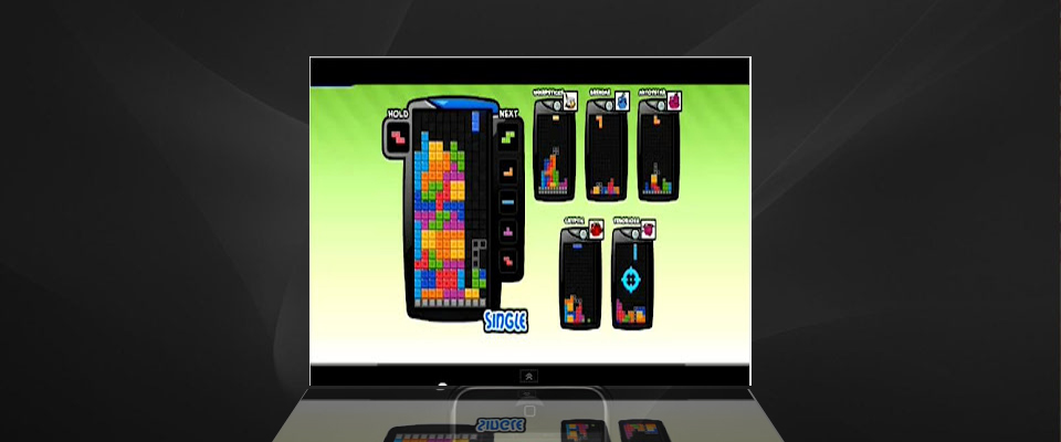 4-wide combo tutorial ,demonstration,guide ~ Tetris Battle Cheat