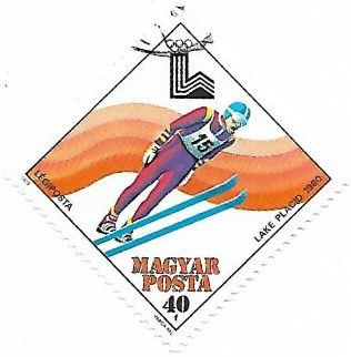 Selo salto de esqui