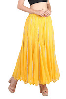 best yellow skirt in india