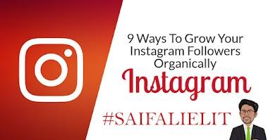 Grow Your Instagram Followers Organically