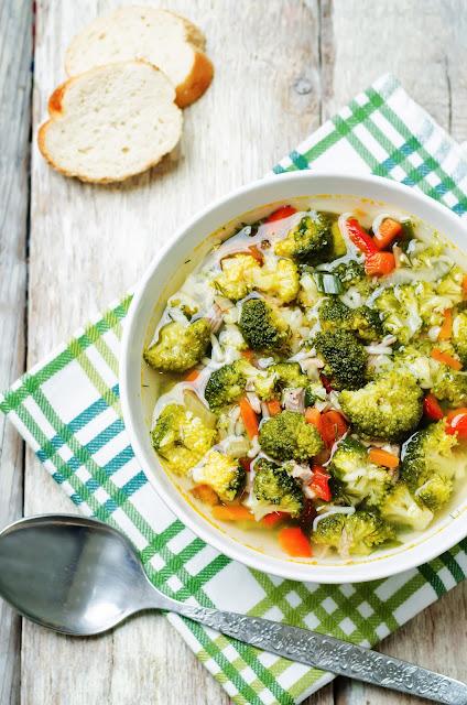 caldo de verduras receta facil