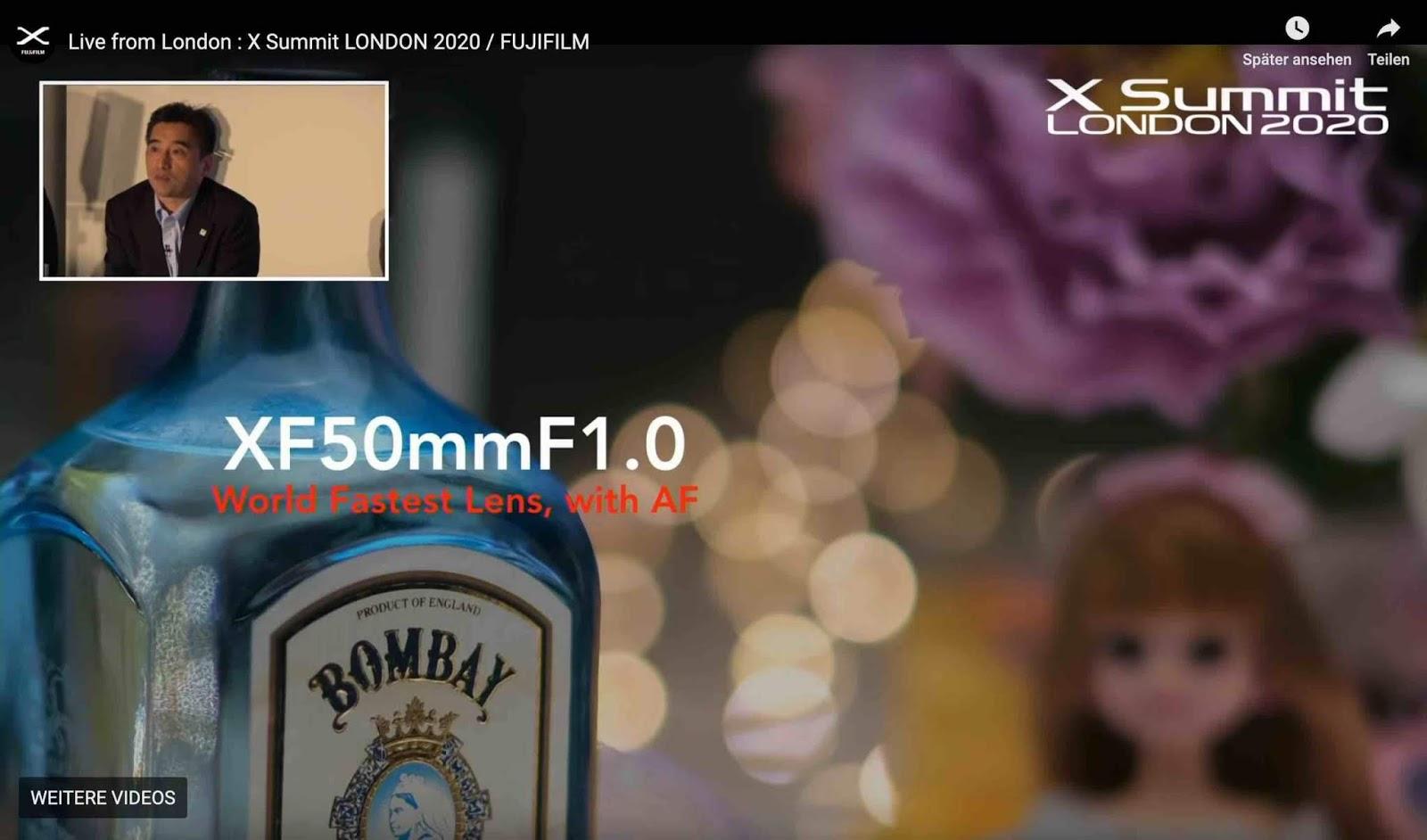 Пример боке с объектива Fujinon XF 50mm f/1.0
