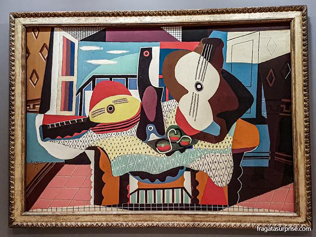 Museu Guggenheim, Nova York - Picasso: Bandolim e Guitarra