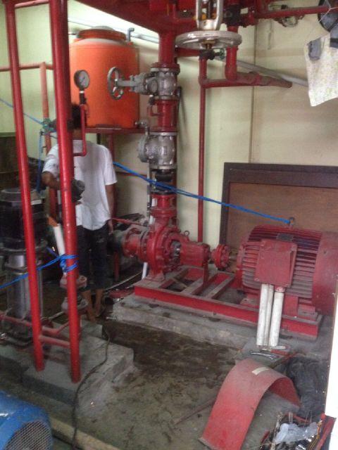 Jasa Service Perbaikan Mesin Pompa Hydrant System