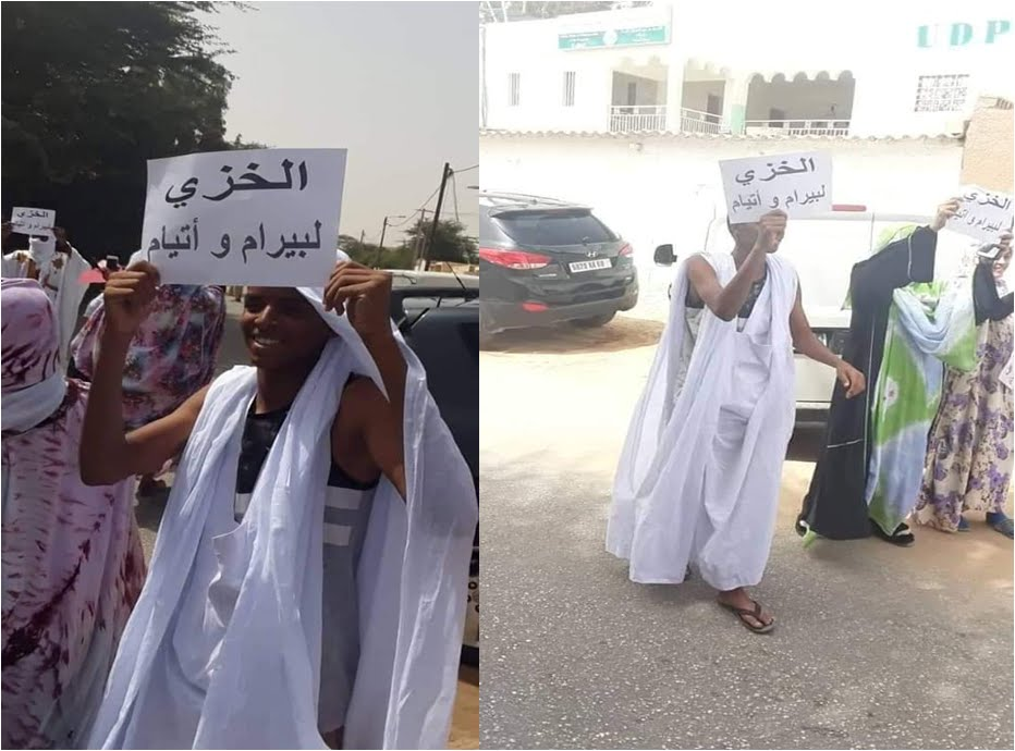 Le régime Mauritanien soutient les extrémistes qui appellent à prendre des armes.