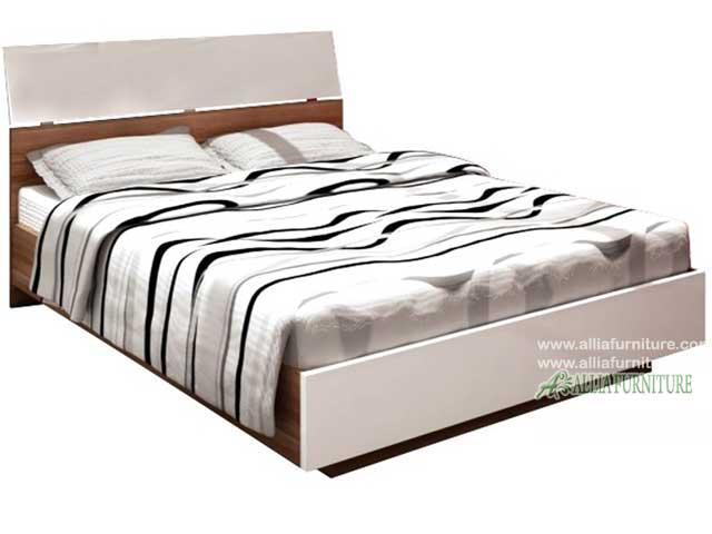 tempat tidur minimalis modern cocoa