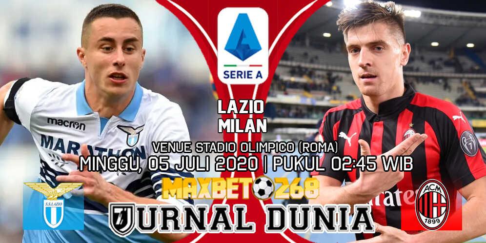 Prediksi Lazio Vs AC Milan 05 Juli 2020 Pukul 02.45 WIB