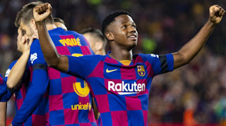 Manchester United Set to lunch new offer for Barcelona superkid Ansu Fati