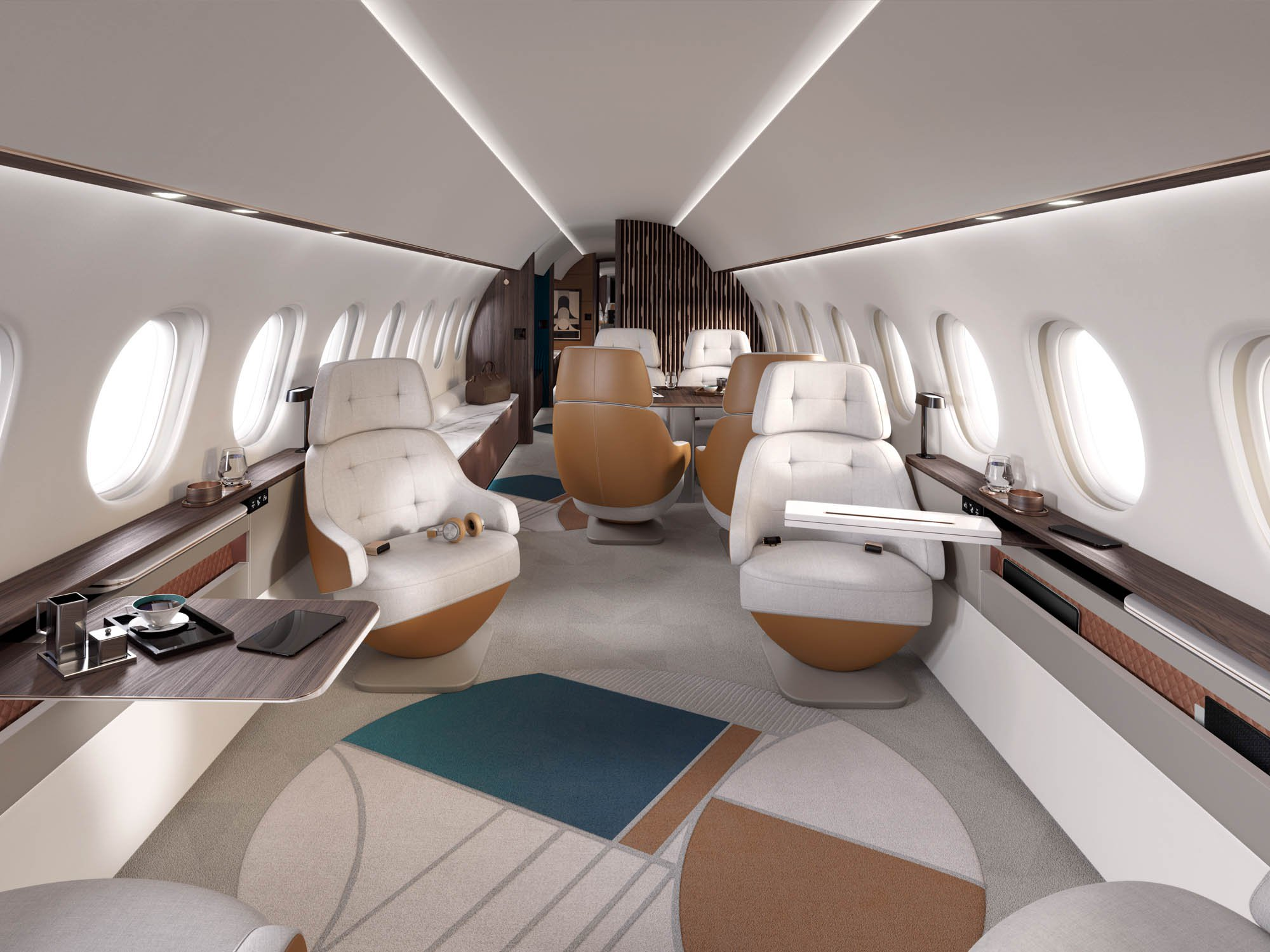 Dassault Aviation has just launched the Falcon 10X, view photos here | MORE THAN FLY