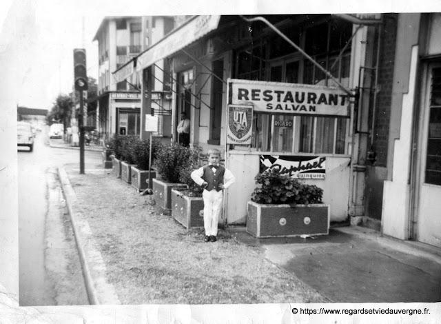 photo ancienne restaurant Salvan à localiser
