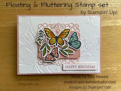 Floating & Fluttering card 2