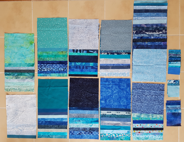Inventory quilt progress | DevotedQuilter.com