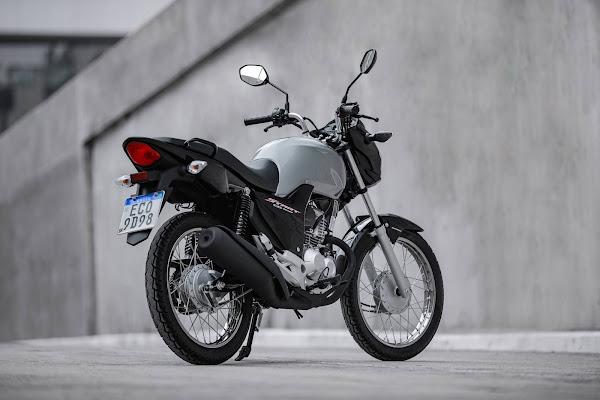 Honda CG 160 2022 - Start