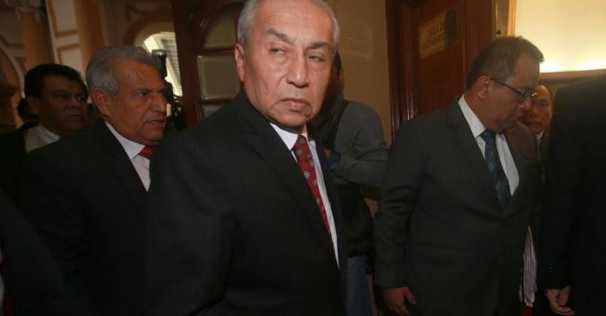 Daré mi vida para defender autonomía de la Fiscalía, sostuvo el fiscal de la Nación, Pedro Chávarry