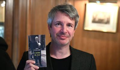 """Éric Vuillart, Pedro Almodóvar, """"El orden del día"""", """"Dolor y Gloria"""""""