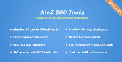 AtoZ SEO Tools v2.9 - Search Engine Optimization Tools