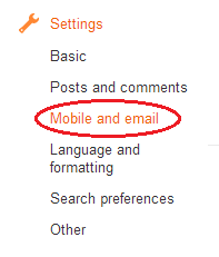 How To Post Articles Using Email On Blogger