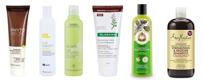szampony do kręconcyh włosów