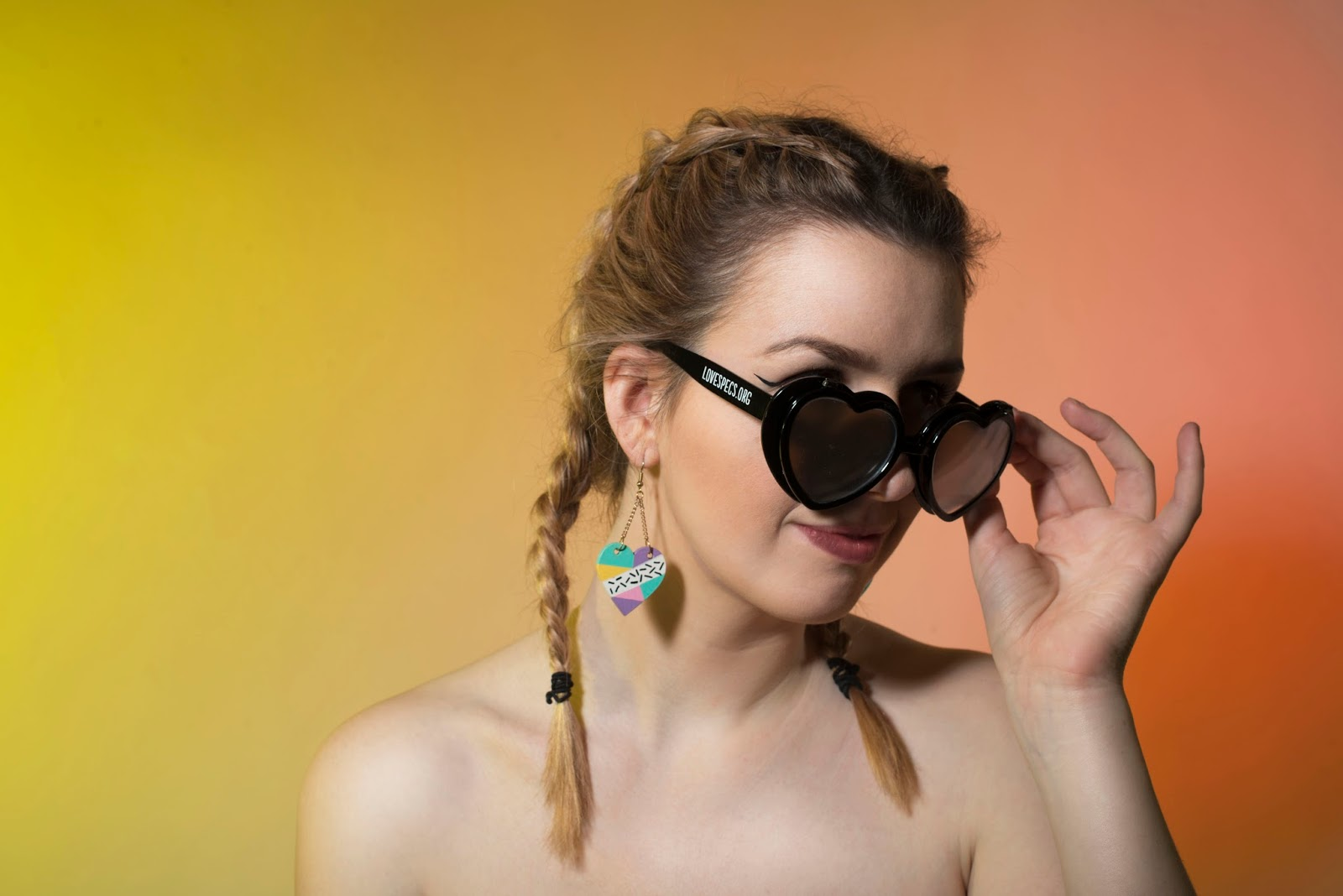 Love Specs, Klara Foreman, WESTWORLD magazine, Tezla Designs