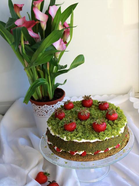 ciasto leśny mech przepis