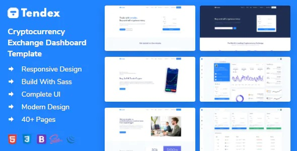 Best Cryptocurrency Exchange HTML Template + Dashboard