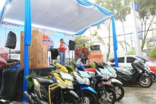 Wali Kota Tarakan Membuka Acara Panen Hadiah Simpedes BRI Periode I Tahun 2019