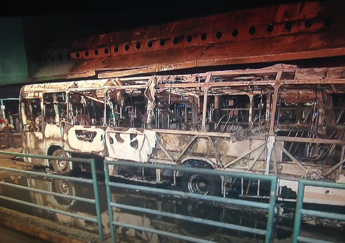 Ceará tem sequência de ataques a prédios públicos e mais de 50 veículos incendiados durante madrugada
