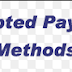 Our Payment Methods