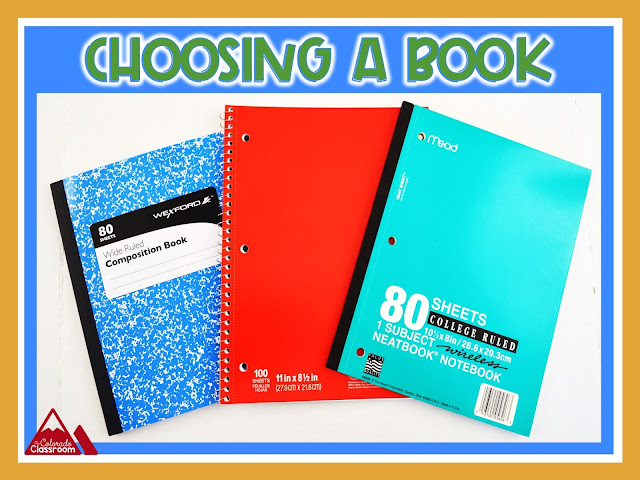 Choosing the right interactive notebook.