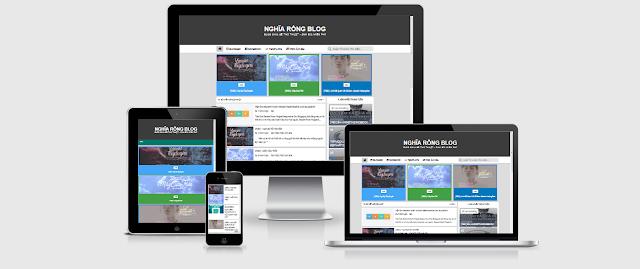 Share Template  Simple NghiaRongBlog V2 Blogger