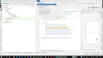 Enabling Git version control integration