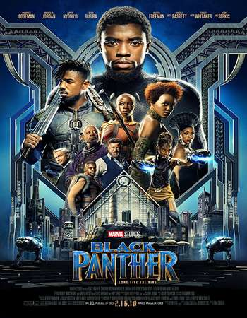 Black Panther 2018 Dual Audio 750MB HDCAM [Hindi – English]