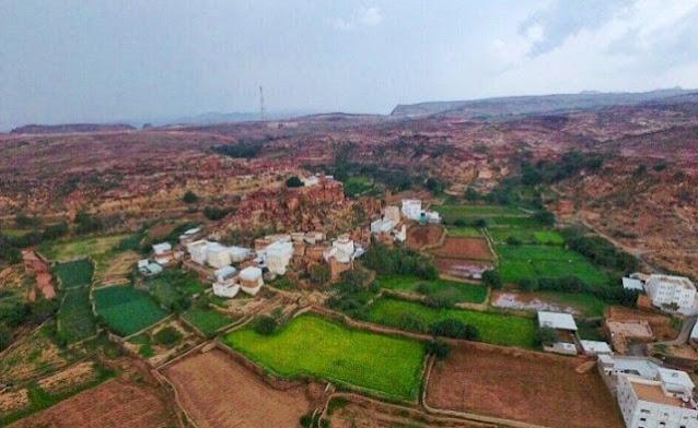 القرية المعلقة في أبها