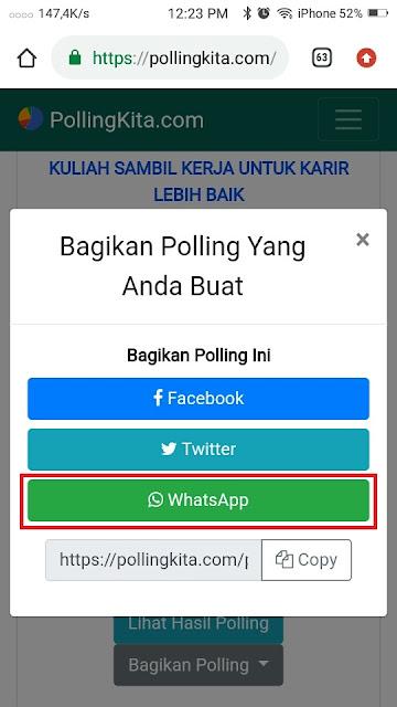 Cara Membuat Polling di Whatsapp - 3