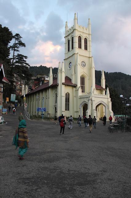 Shimla ridge , know all about shimla