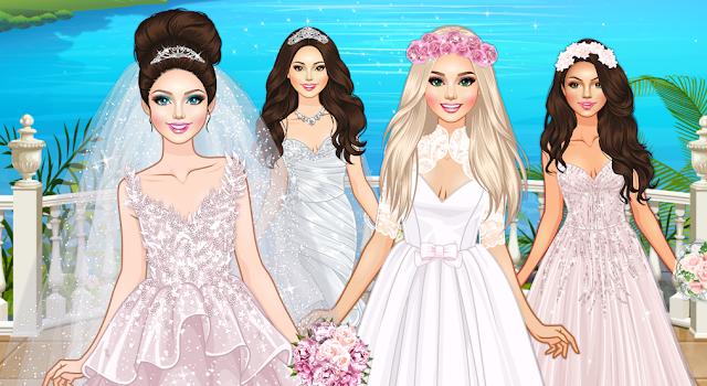Game Barbie Model Wedding