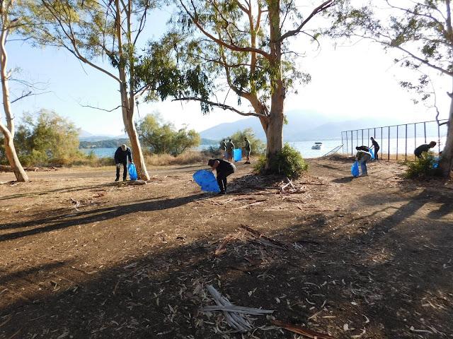 Θεσπρωτία: Ο Φορέας Διαχείρισης Καλαμά -Αχέροντα και το ΚΠΕ Φιλιατών καθάρισαν την παραλία του Δρεπάνου