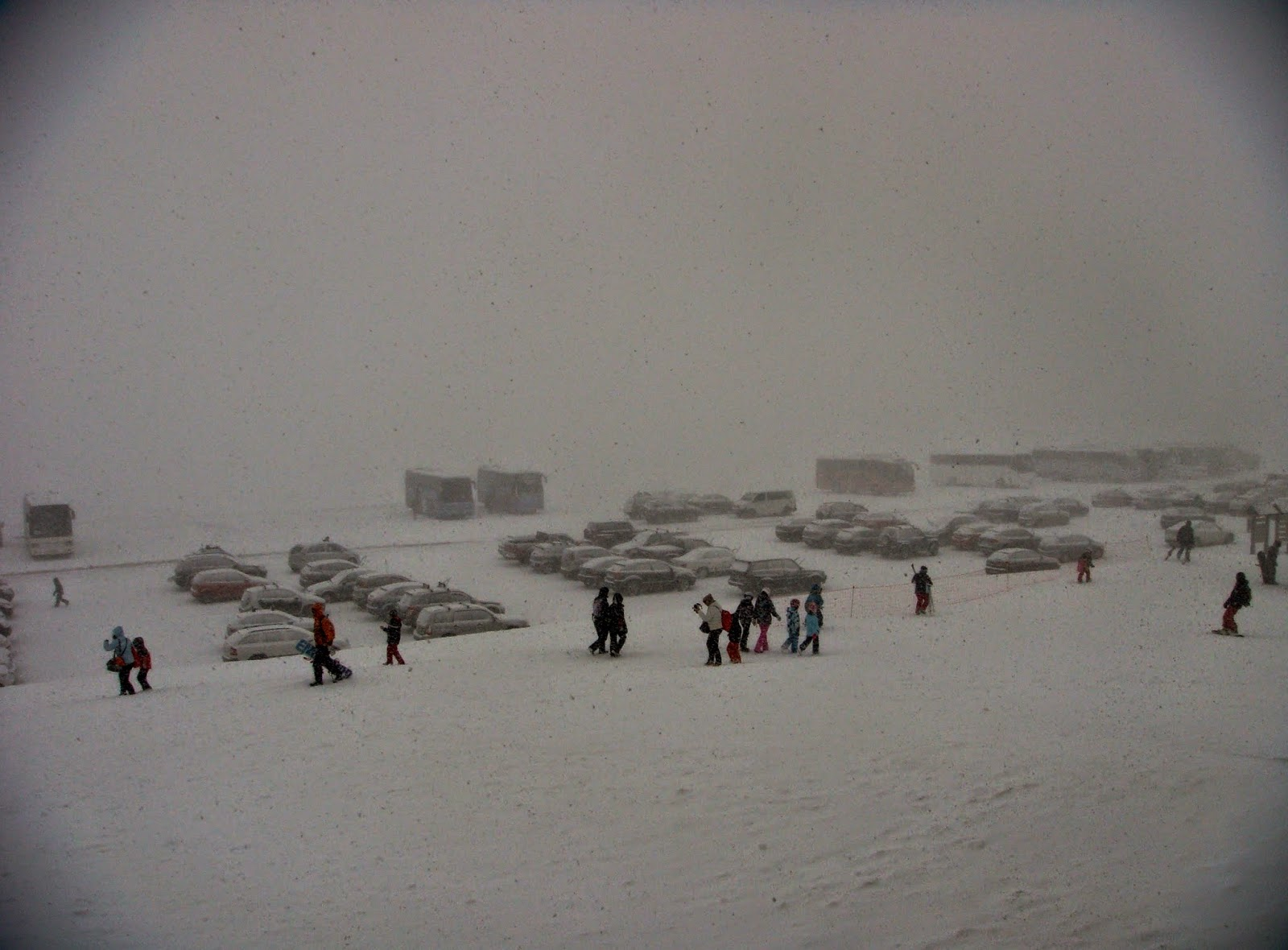 Blizzard in Kalavryta