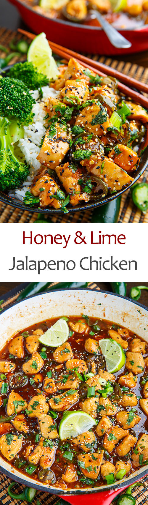 Honey and Lime Jalapeno Chicken