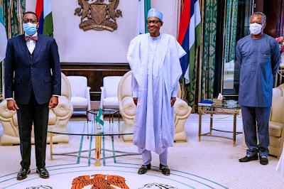 Embattled Akinwumi Adesina Meets Buhari