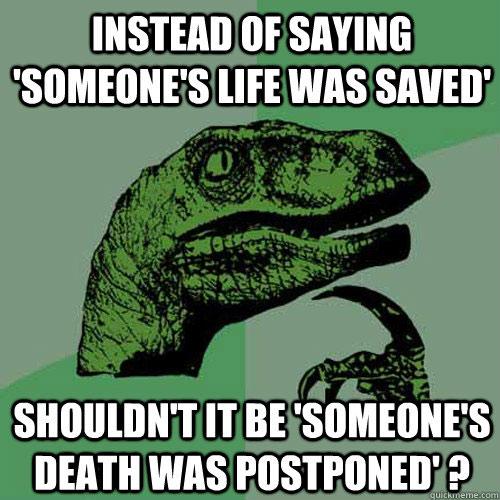 philosoraptor on life