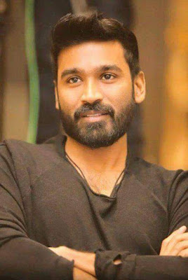 Dhanush black t shirt image