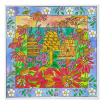Lila's Garden Art Prints and Gifts