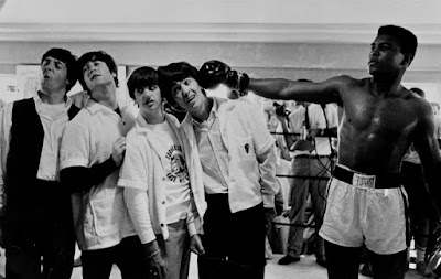 Los Beatles y Muhammad Ali