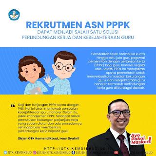 pengangkatan asn pppk guru 2021