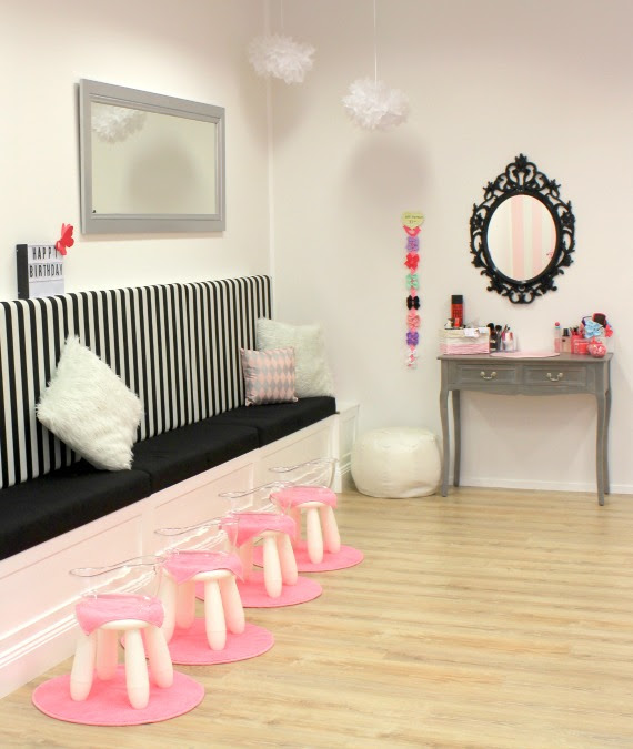 Image of girls birthday party venue
