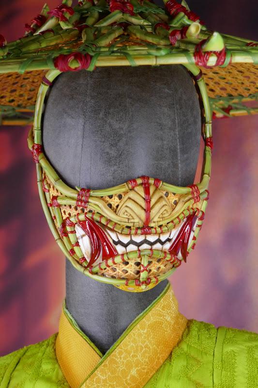 Li movie costume face mask Shang-Chi